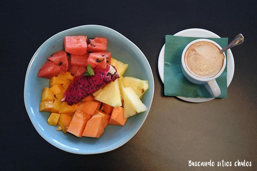Desayuno en Trópico Barcelona