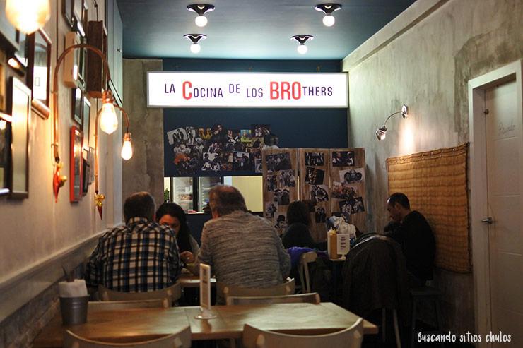 La cocina de BRO Room en Barcelona