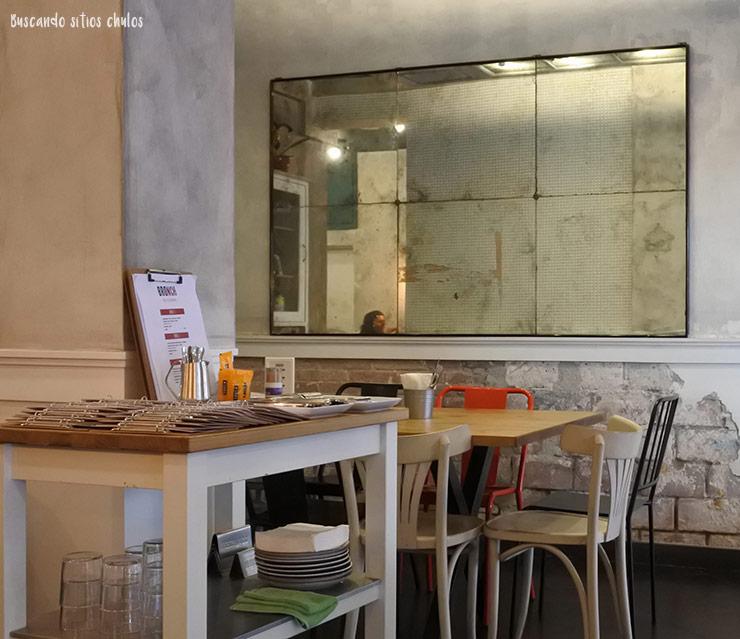 Interior de BRO Room en Barcelona