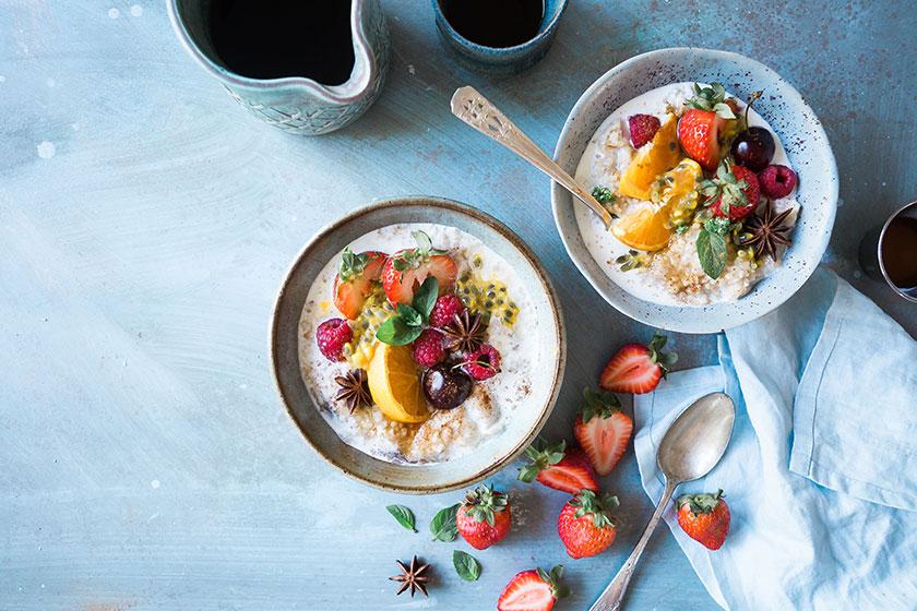 Desayunos fotogénicos