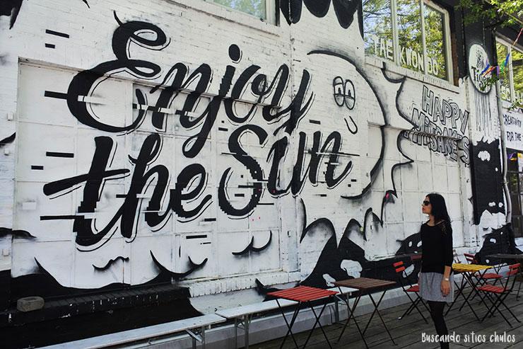 Street Art en RAW Tempel