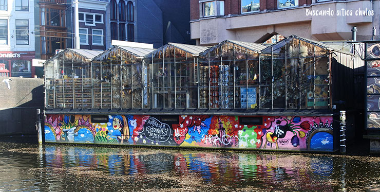 Arte urbano en las paredes de Ámsterdam