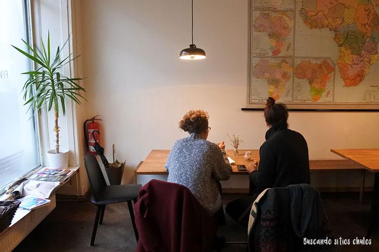 Cafetería Five Elephant en Berlín
