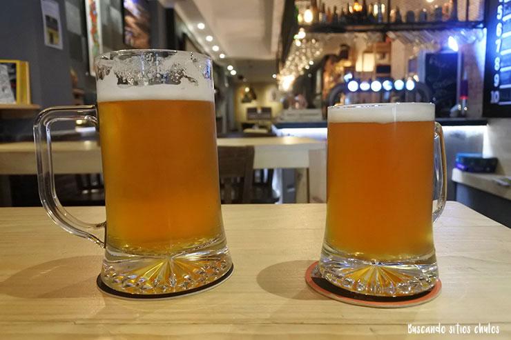Cerveza artesana en La Coruña