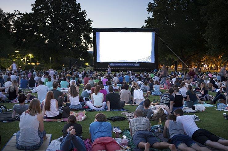 Planes chulos para el verano, ver cine al aire libre