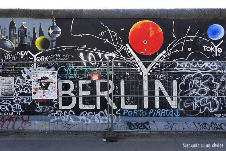 East Side Gallery Berlín