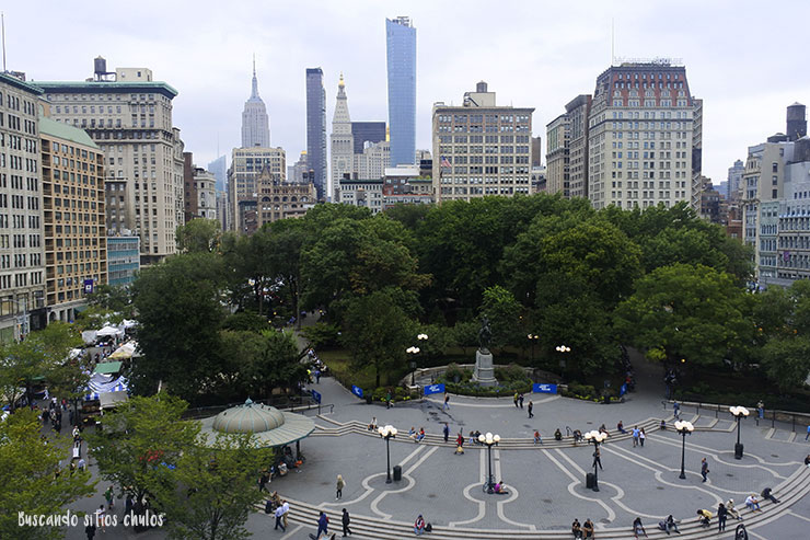 Panorámica de Union Square