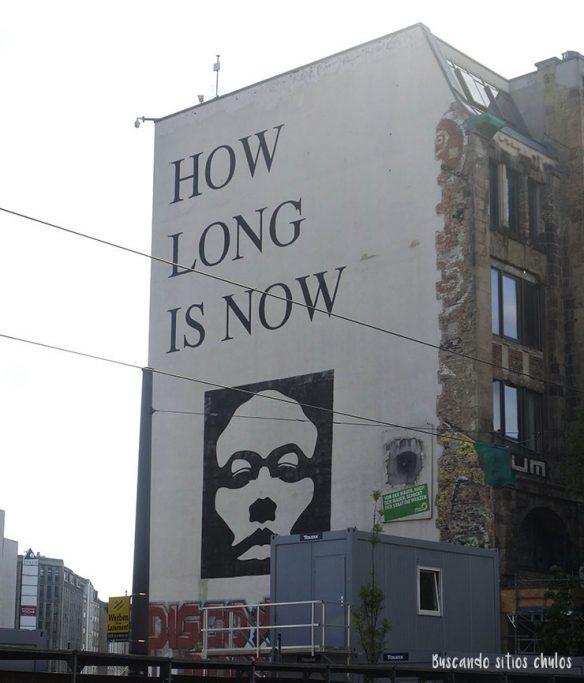 Street art en las calles de Berlín