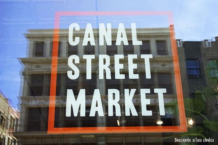 Canal Street Market en Nueva York