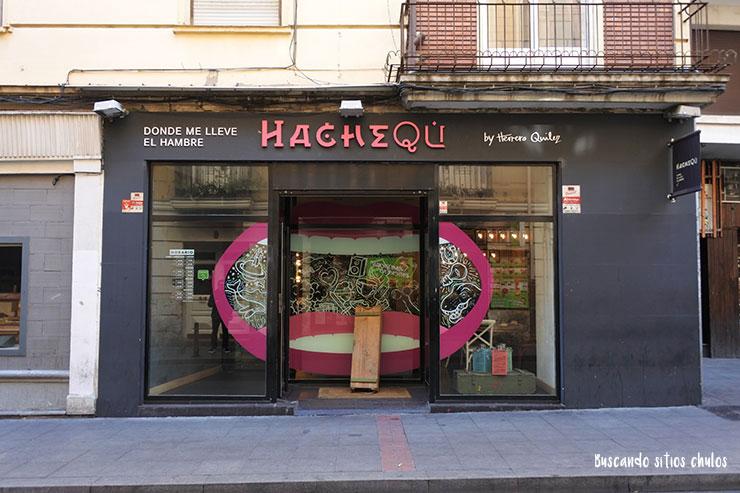 Entrada HacheQú Valladolid