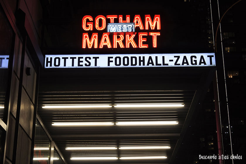 Exterior Gotham West Market