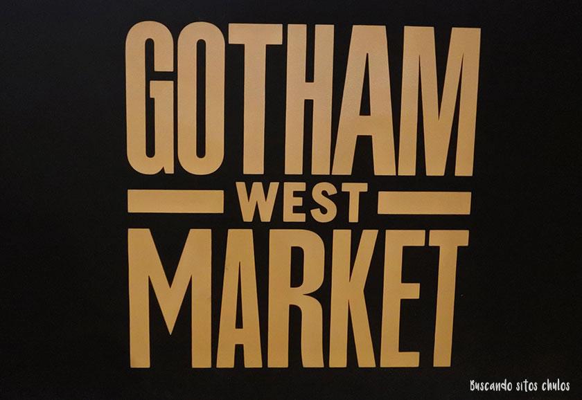 Gotham West Market en Nueva York