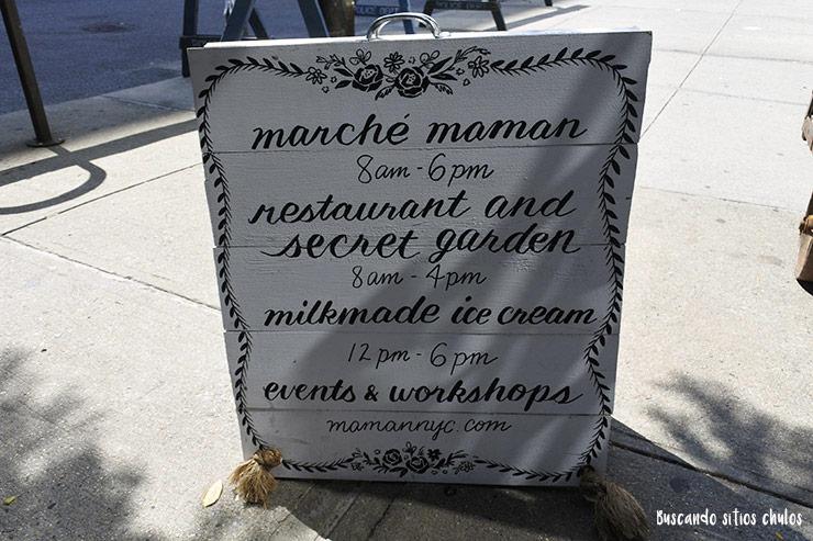 Horarios de Marché Maman en Nueva York