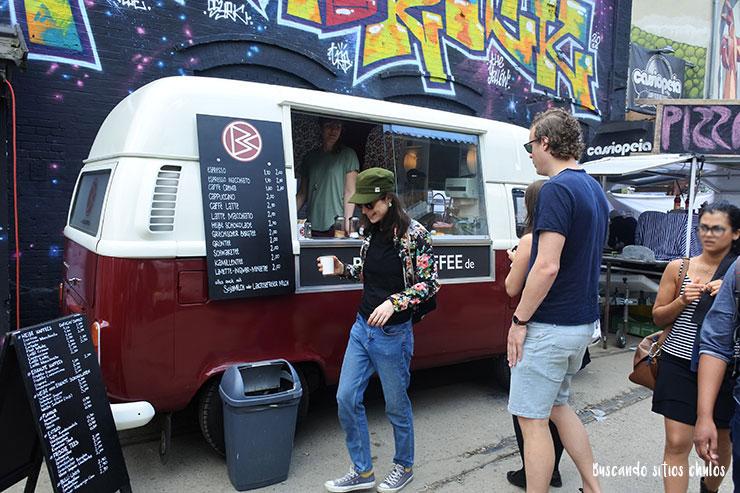 Food Truck en Raw Tempel