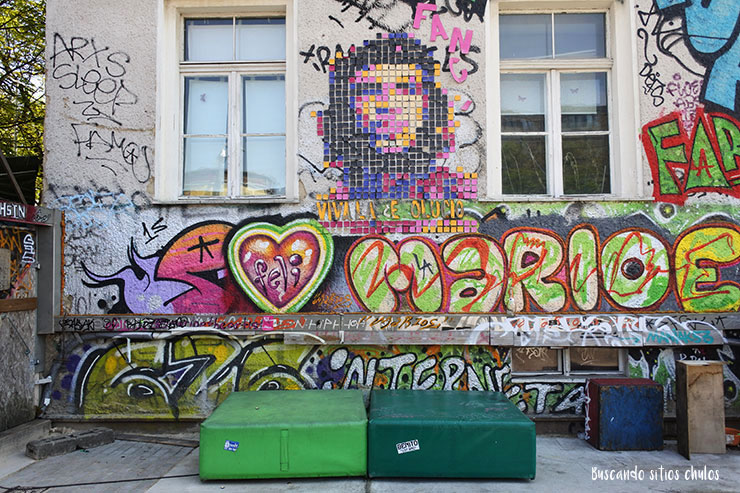 Arte callejero en RAW Tempel