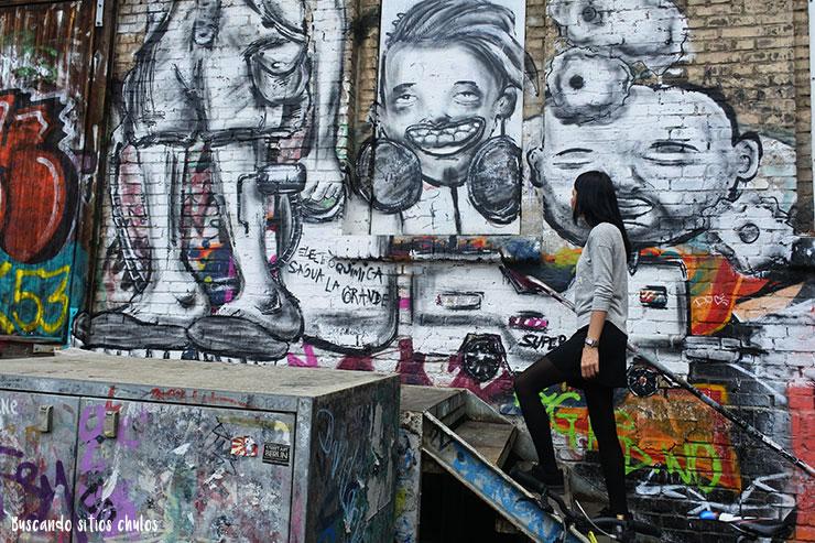 Street art en RAW Tempel (Berlín)