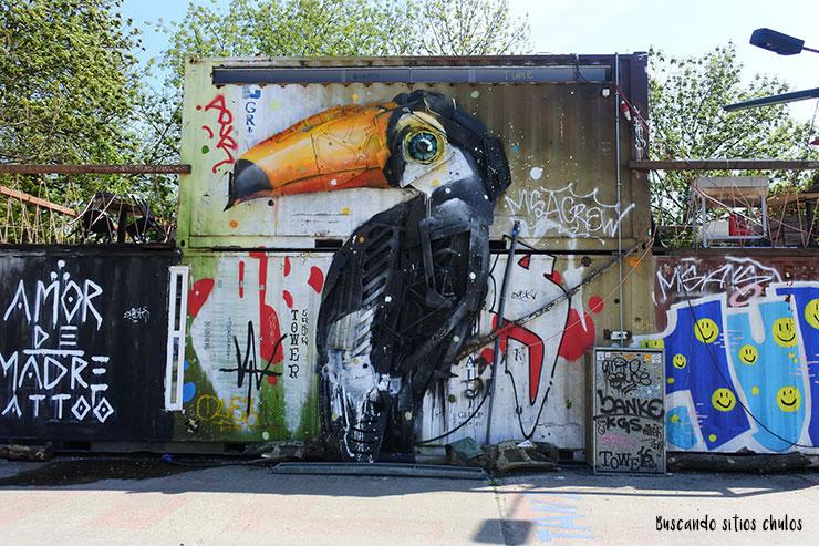 Arte urbano en RAW Tempel