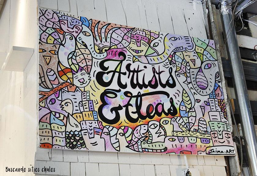 Artists & Fleas en Williamsburg