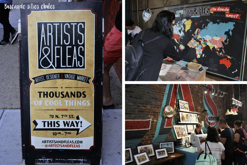 Artists & Fleas en Williamsburg (Nueva York)