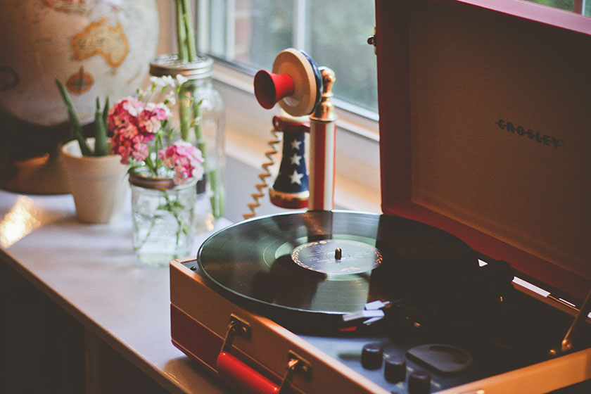 Me hace feliz escuchar música e ir a conciertos