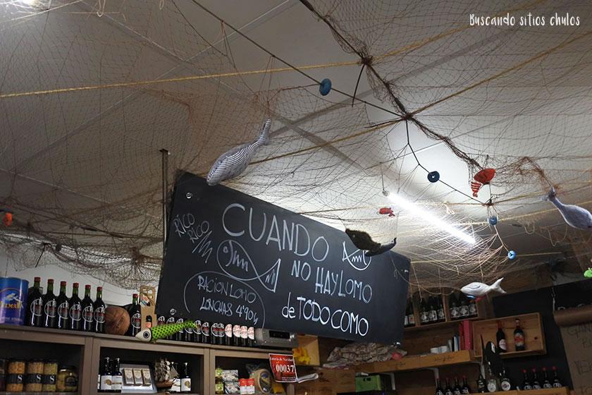Interior el Pez de San Lorenzo