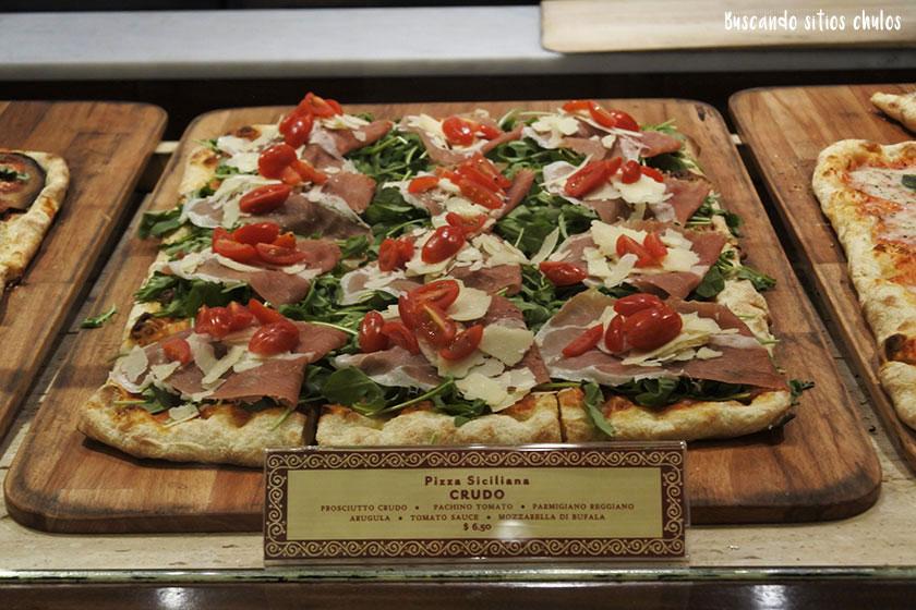 Pizza de Filaga