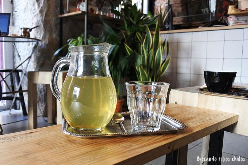 Té verde en Plantaté Café