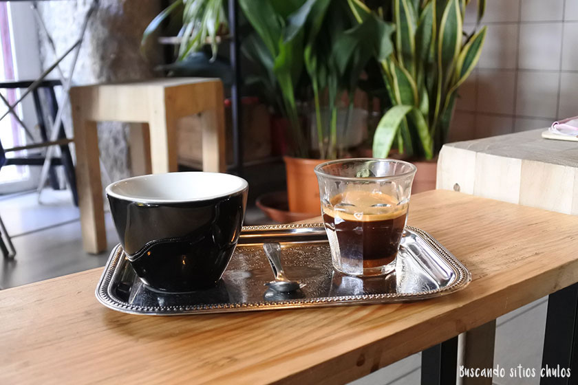 Café americano en Plantaté Café