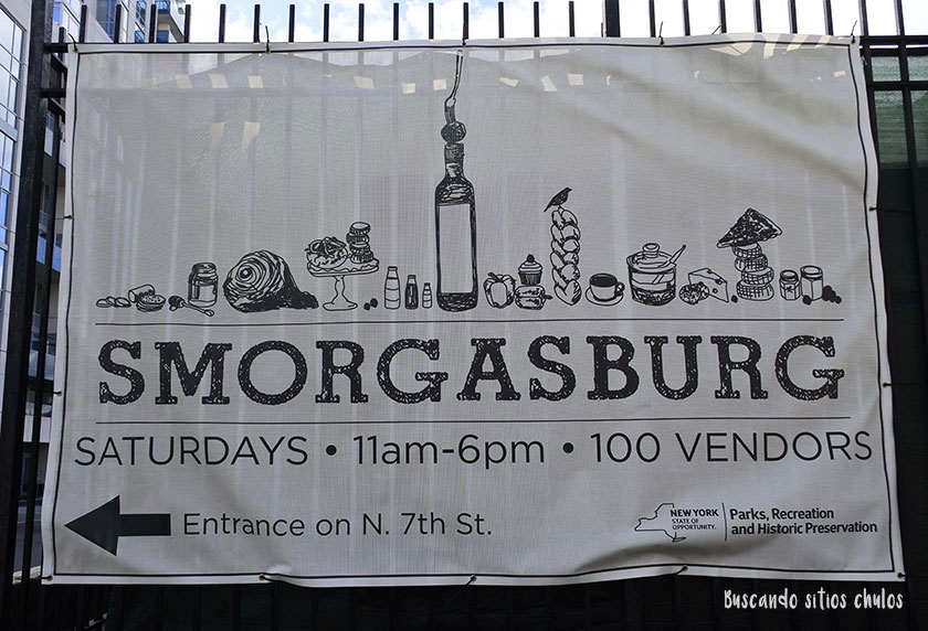 Smorgasburg en Williamsburg (Brooklyn)