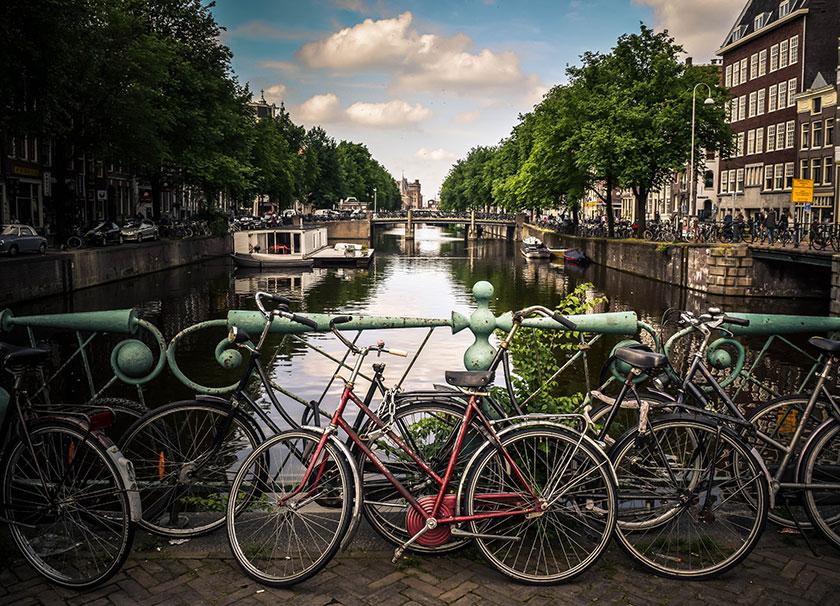 Visita por Ámsterdam en bicicleta