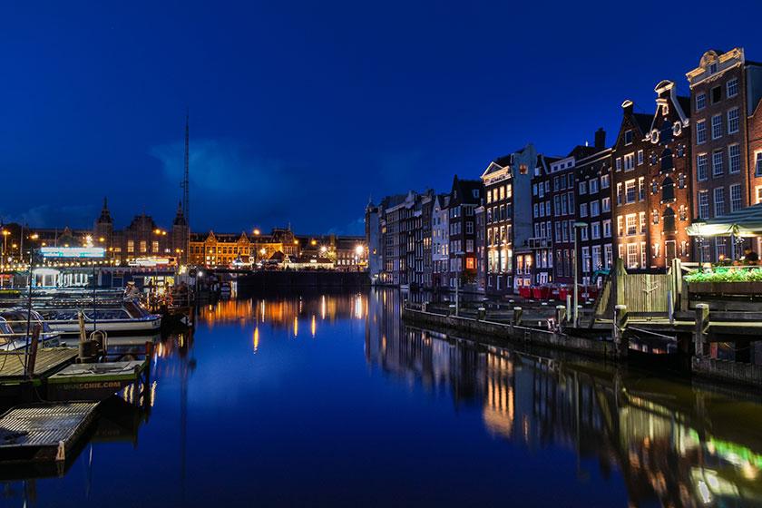 Crucero a la luz de las velas por Ámsterdam