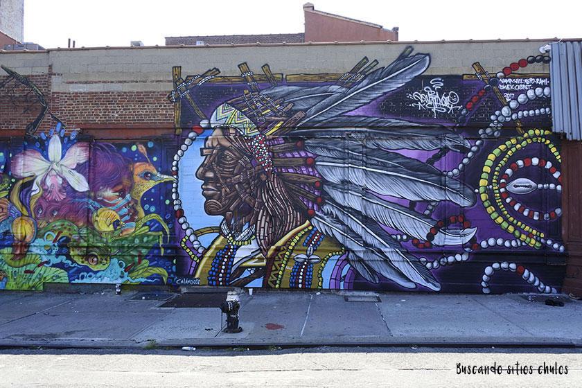 Graffitis en Bushwick 1