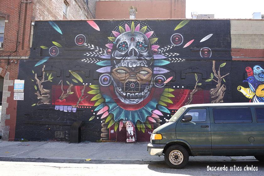Graffitis en Bushwick 2