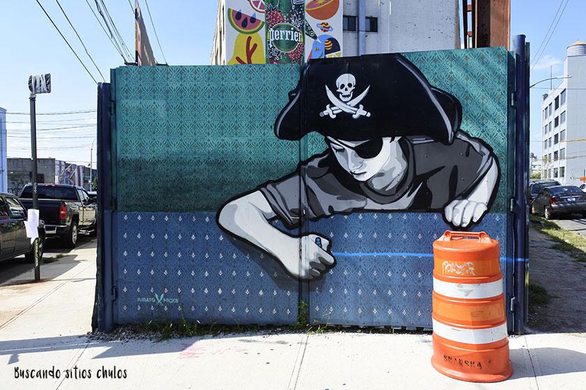 Graffitis en Bushwick 6