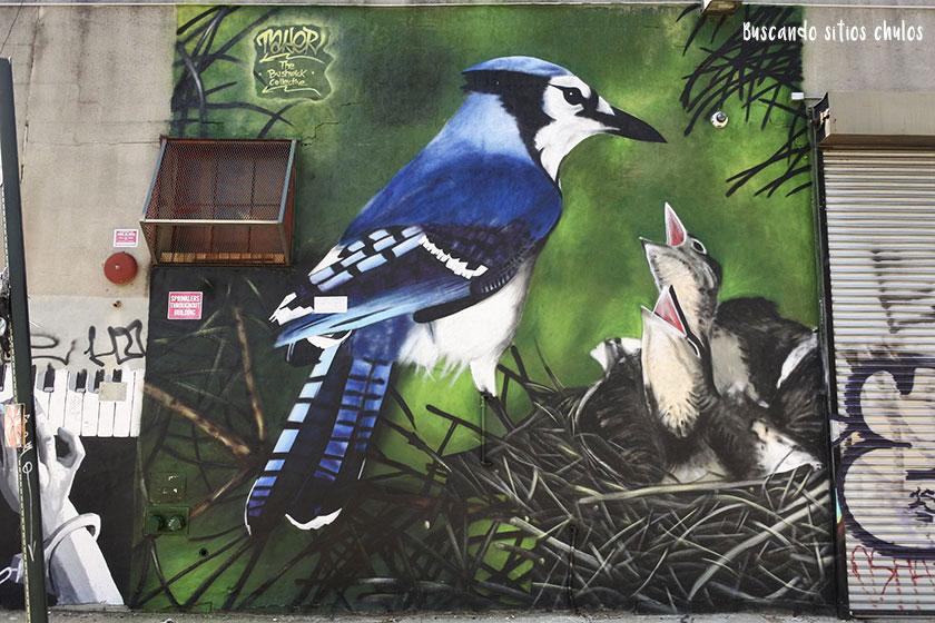 Graffitis en Bushwick 8