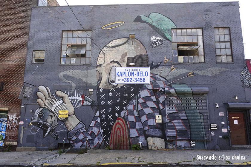 Graffitis en Bushwick 4
