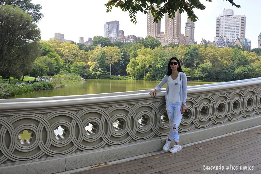 Bow Bridge en Central Park