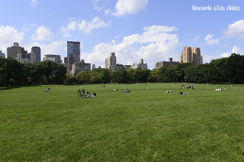 Sheep Meadow en Central Park