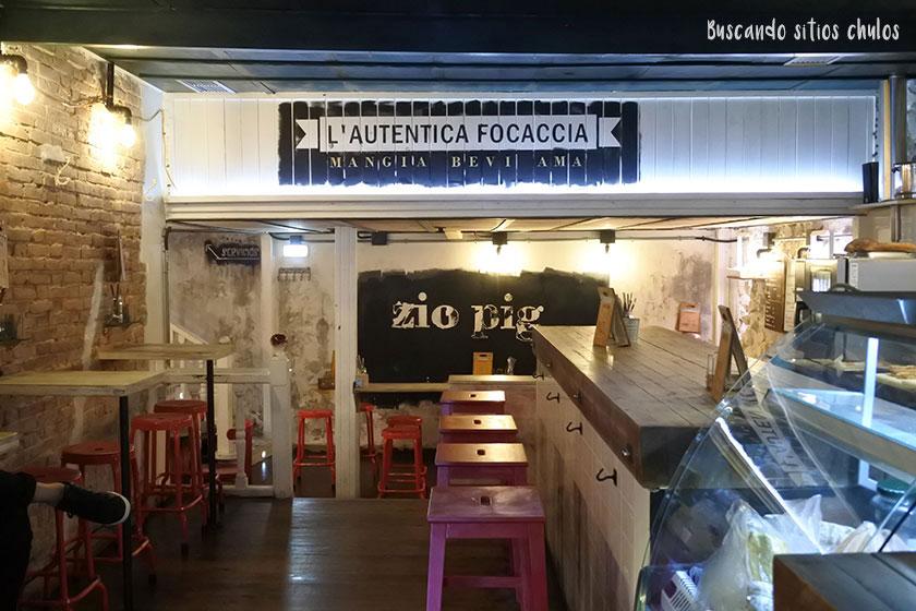Zio Pig en Gijón