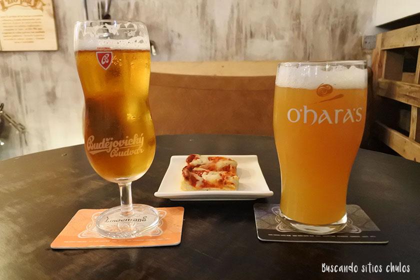Cerveza artesana en Zio Pig Gijón