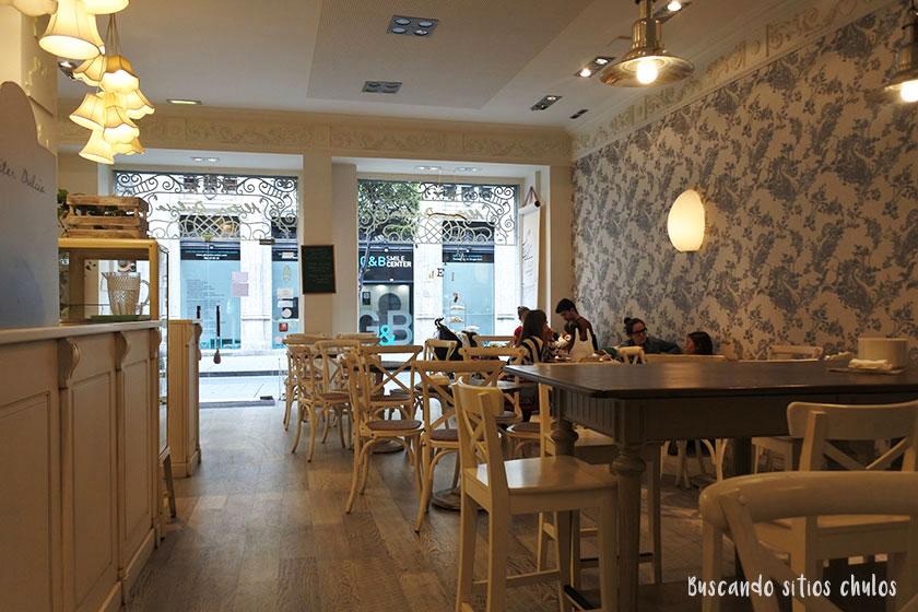 Interios de Alitier Dulcia en Gijón