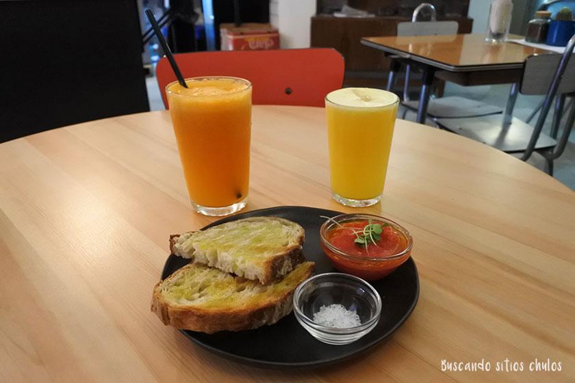 Desayuno en Blackbird Valencia