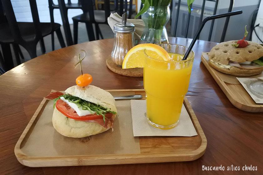 Desayuno en Dulce de leche Valencia