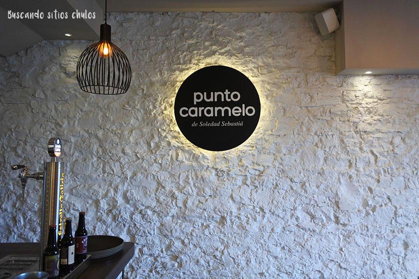 Interior de Punto Caramelo en Gijón