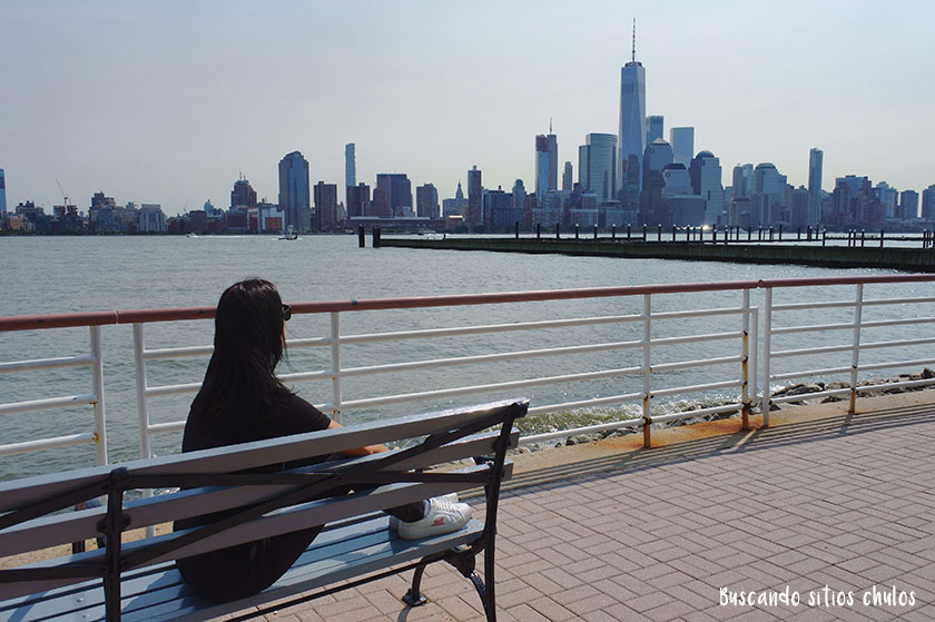 New Jersey con vistas a Manhattan