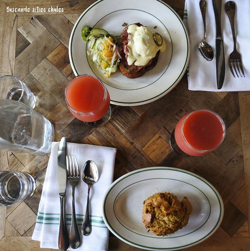 Desayuno en Rosemary's