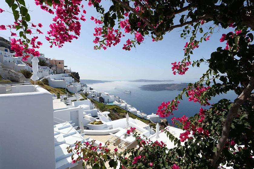 Hoteles chulos: Astra Suites en Santorini