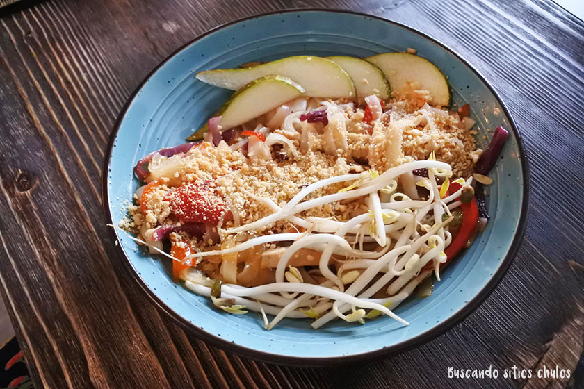 Pad Thai en Bastard Coffe & Kitchen