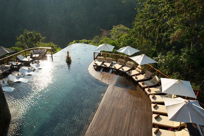 Hoteles chulos: Hanging Gardens of Bali