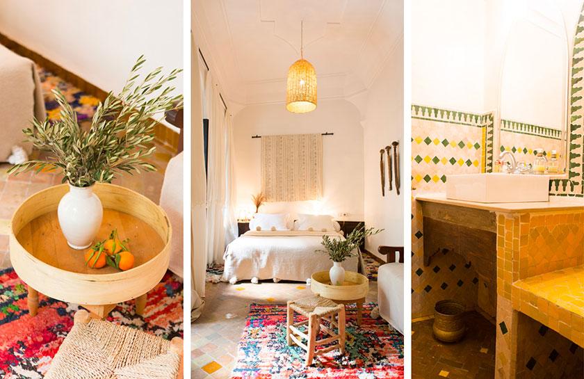 Interior del hotel Riad Yasmine Marrakech